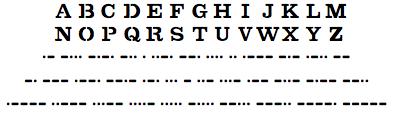 Kryptos Sculpture TrueType Font